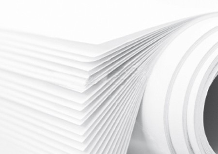 Bobina de papel filtrante