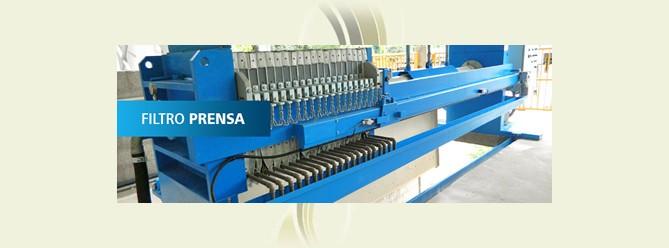 Filtro prensa industrial preço