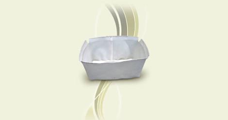 Caixas para decantação de leito de secagem
